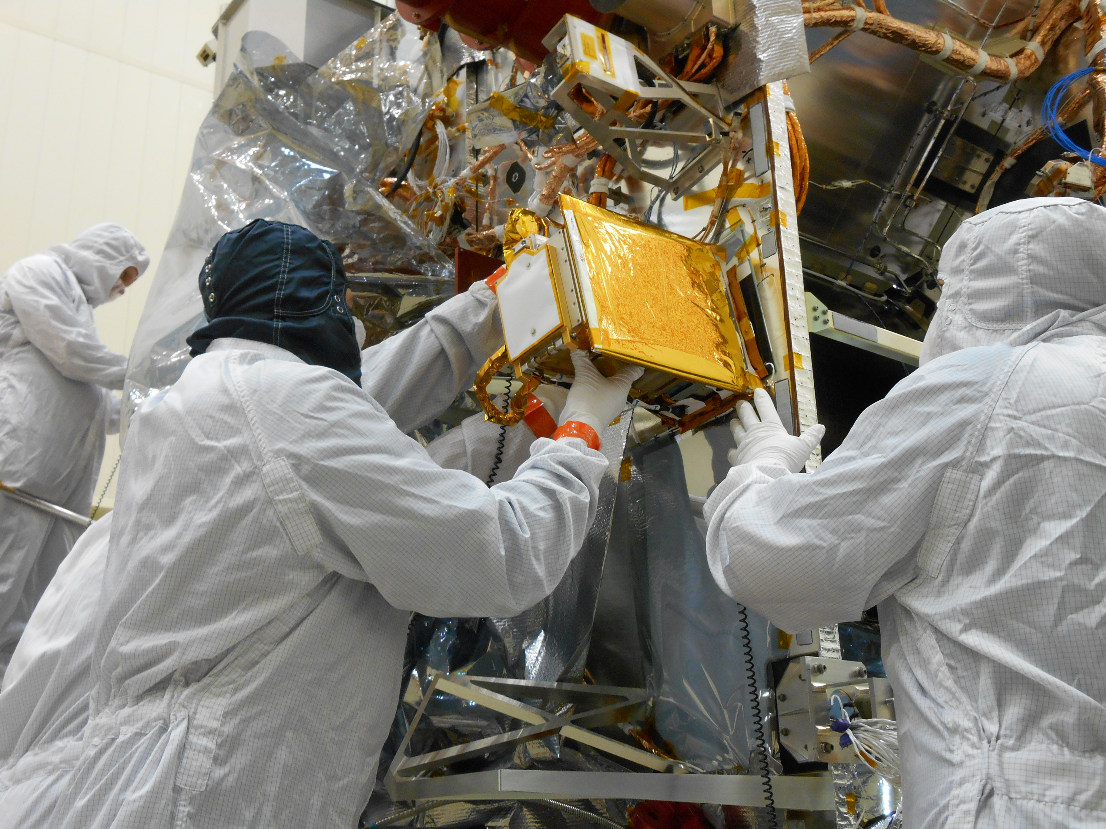 PI BLOG:  HOW REXIS MADE IT ON THE SPACECRAFT