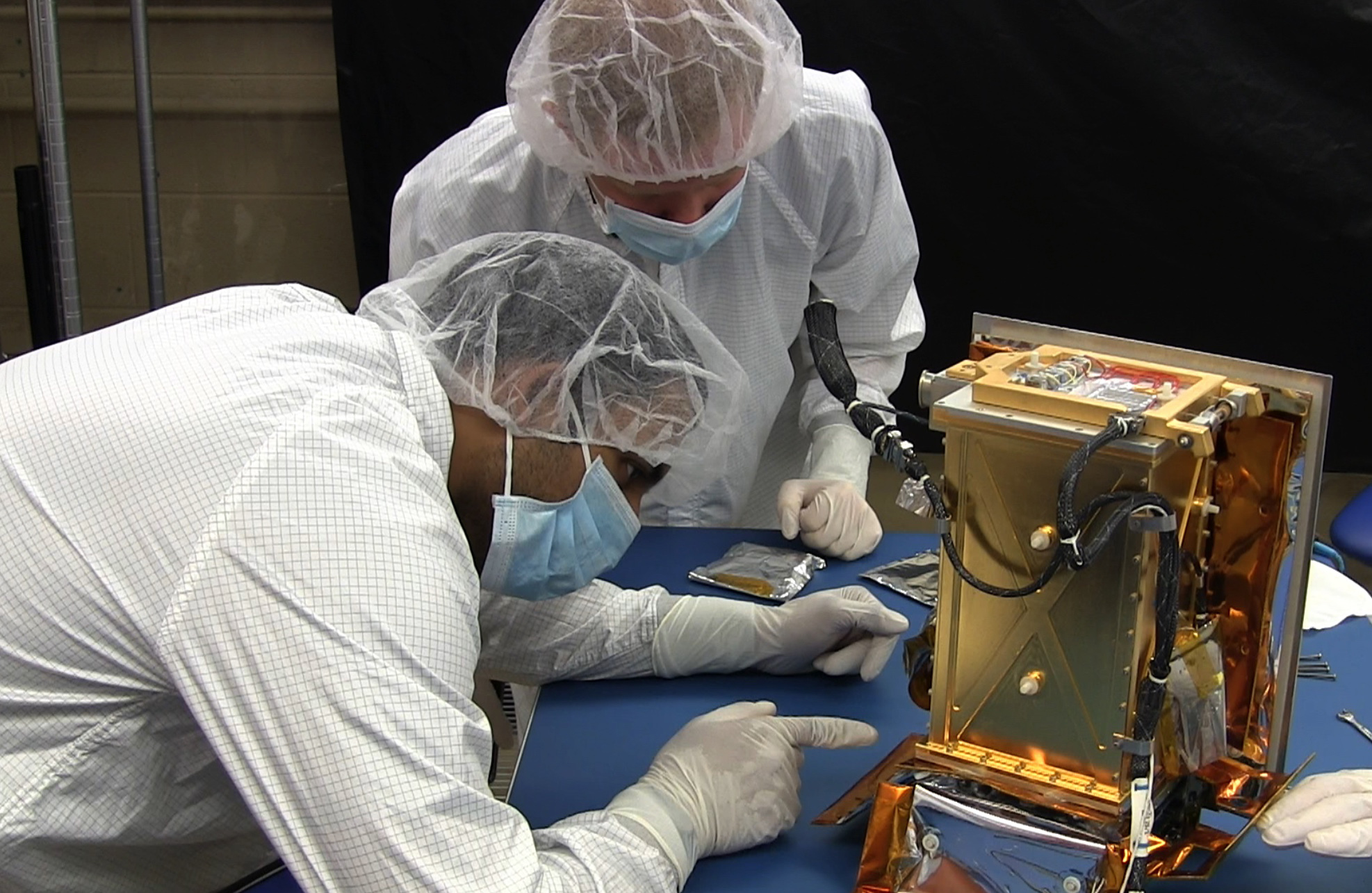 Student-Built Experiment Integrated onto NASA's OSIRIS-REx Mission